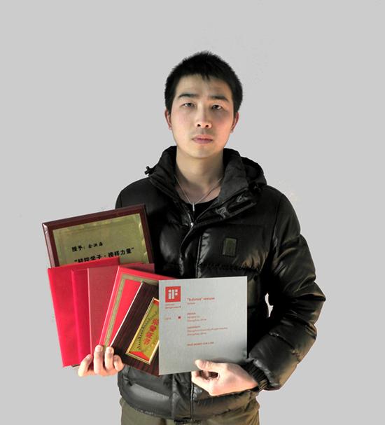 2012中国大学生年度人物候选人余洪海事迹